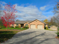 Executive custom-built home on 2 acre lot near Port Dover