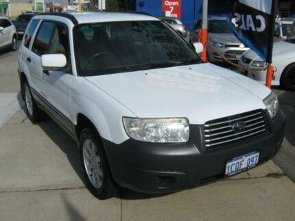 2007 Subaru Forester MY07 XS White 4 Speed Auto Elec Sportshift Wagon Fremantle Fremantle Area Preview