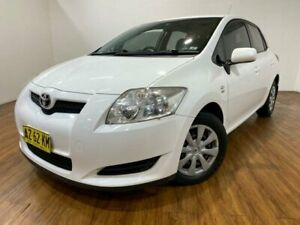 2008 Toyota Corolla ZRE152R Ascent White 4 Speed Automatic Hatchback Kingsgrove Canterbury Area Preview