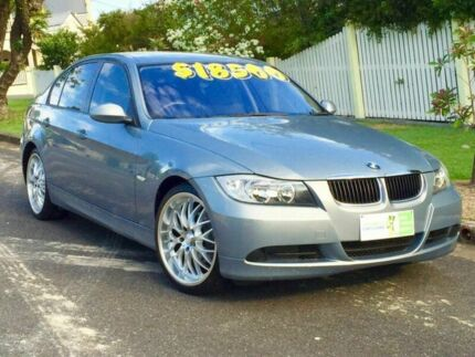 2007 BMW 320i  Blue 6 Speed Manual Sedan Greenslopes Brisbane South West Preview