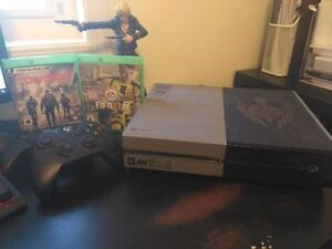 XBox One 1TB Console + 2 Controllers with FIFA17 and Division