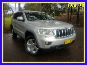 2012 Jeep Grand Cherokee WK MY2012 Laredo Silver Sports Automatic Wagon Lansvale Liverpool Area Preview