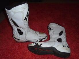 TCX race boots size 11