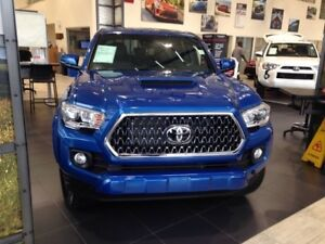 2018 Toyota Tacoma TRD Sport Upgrade 4x4 Double Cab Side Steps,