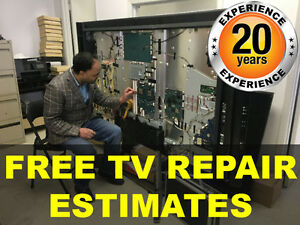TV REPAIR MISSISSAUGA, TV REPAIR BRAMPTON | ALL MAKES & MODELS