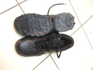 size 8 new steel toe shoes from viper,4986