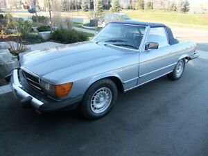 1981 380SL Convertible (with hardtop)