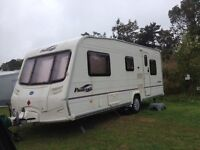 2005 Bailey Pageant Touring Caravan 5 Berth - Fully Equiped inc Motor Mover & Full Bradcot Awning