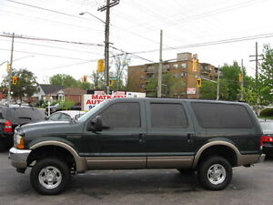 **2000 Ford Excursion 4x4 Leather & Sunroof** Certified & E-test