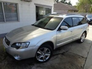 2004 Subaru Outback MY04 3.0R Premium Silver 5 Speed Auto Sports Shift Wagon Sylvania Sutherland Area Preview