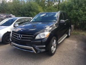2014 Mercedes-Benz M-Class ML 350 AWD,LEATHER SEATS,PANORAMIC RO