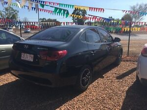 2008 Hyundai Elantra SX Black 6 Speed Manual Sedan Hidden Valley Darwin City Preview