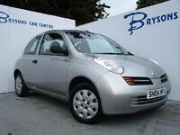 2004 04 Nissan Micra 1.2 16v S for sale AYRSHIRE