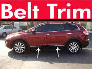 Mazda CX-9 CX9 CHROME SIDE BELT TRIM DOOR MOLDING 2007 2008 2009 2010-2015