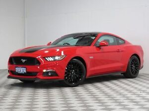 2016 Ford Mustang FM Fastback GT 5.0 V8 Red 6 Speed Automatic Coupe Jandakot Cockburn Area Preview