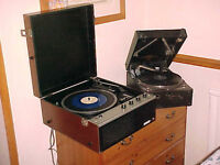 VINYL RECORDS WANTED - LP's - Singles - Most Kinds + Old Record Players Also Wanted