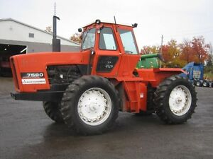 Allis Chalmers 7580 Tractor