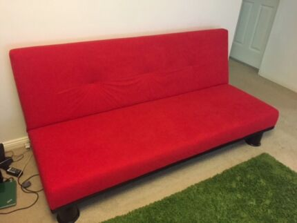 Red Sofa Bed Hornsby Hornsby Area Preview