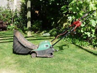 'Reduced To Clear' Qualcast Electric Lawnraker / Scarifier / Moss Remover, Spares Or Repairs