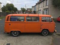 VW Type 2 Late Bay Camper Van