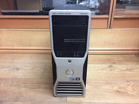 Dell Precision T5500 Intel Xeon E5620 2.40GHz 8GB Ram 500GB HDD Windows 7 Pro PC