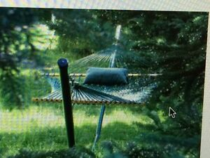 Kingcord Hammock with stand.