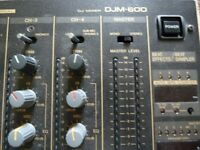 Pioneer DJM600 Professional Mixer