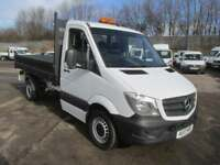 Mercedes-Benz Sprinter 314 SINGLE CAB TIPPER EURO 6 DIESEL MANUAL WHITE (2017)