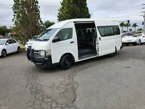 2013 Toyota HiAce KDH223R MY12 Upgrade Commuter White 5 Speed Manual Bus Wilsonton Toowoomba City Preview