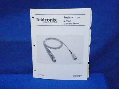 Tektronix A6302 Current Probe Instructions