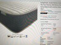 New unused STARLIGHT BEDS DOUBLE MATTRESS