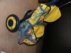Back Pack with 2 Wheeled Towing Cart. REDUCED! Regina Regina Area image 3