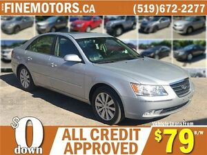 2010 HYUNDAI SONATA GL LIMITED EDITION * LEATHER * POWER ROOF London Ontario image 1