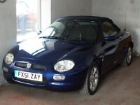 2001 MGF 1.8 Steptronic Convertible