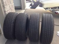 $340.00 P275/65/R18 GOODYEAR SET OF FOUR (1PHPG16141)