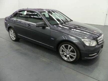 2010 Mercedes-Benz C220 CDI W204 MY10 W204 MY10 AVANTGARDE Grey 5 Speed Auto Tipshift Sedan