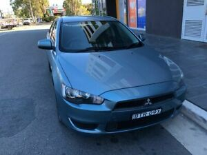2010 Mitsubishi Lancer CJ MY10 ES Metallic Green 6 Speed CVT Auto Sequential Sedan