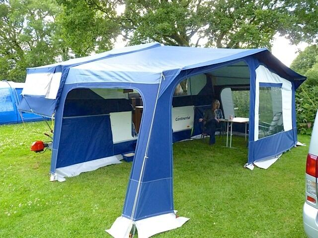 Pennine Conway Continental Folding Camper Amp Awning 2006