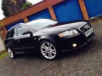 Audi A4 S-Line Avant 1.8T Black. 2006 Registration.