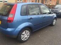 FORD FIESTA 53REG 5DR PETROL FULL YEAR MOT NEW CLUTCH GOOD CONDITION