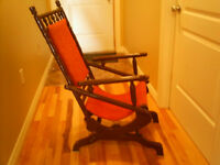 For Sale Antique Rocking Chair