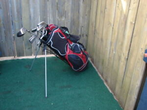 Ladies Left hand Taylormade golf club sets