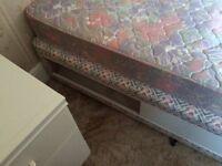 Single Devan bed and mattress