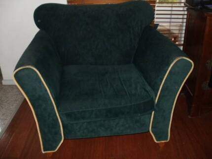 New Age Pine Furniture  Armchair   in Brunswick green