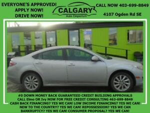 2013 Mazda Mazda6 GS * $28 DOWN  EVERYONE APPROVED*
