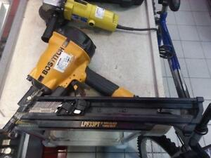 Bostitch Paper Tape Framing Nailer. We sell used tools (#40794)