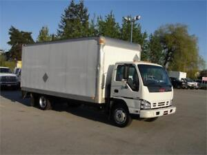2007 GMC W5500 18 FT BOX DIESEL