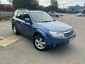 2010 Subaru Forester S3 MY10 XS AWD Blue 5 Speed Manual Wagon Mile End South West Torrens Area Preview
