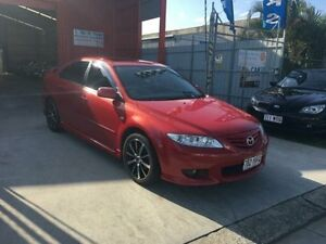 2004 Mazda 6 GG1031 MY04 Luxury Sports Red 4 Speed Automatic Hatchback Clontarf Redcliffe Area Preview