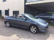2005 Peugeot 307 Convertible CC Dynamic 2.0L Auto Tiptronic Wingfield Port Adelaide Area Preview